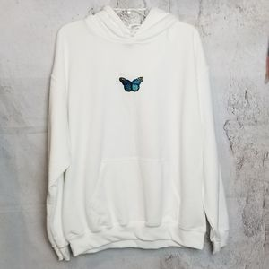 Butterfly Patch Hoodie